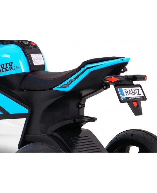 Elektrická motorka SUPER modrá